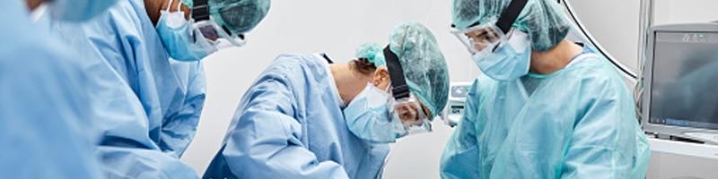 doctor team treating patient